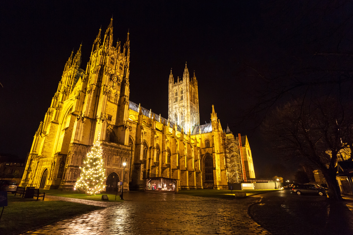 Canterbury cathedral 26th march
